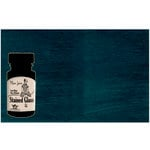 Tattered Angels - Plain Jane Collection - Stained Glass - Semi Matte Glaze - 1.35 Ounce Bottle - Dark Turquoise