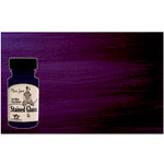 Tattered Angels - Plain Jane Collection - Stained Glass - Semi Matte Glaze - 1.35 Ounce Bottle - Purple
