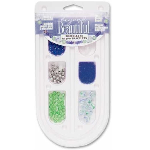 Cousin - Beyond Beautiful Collection - Jewelry - Bracelet Kit - Blue and Green