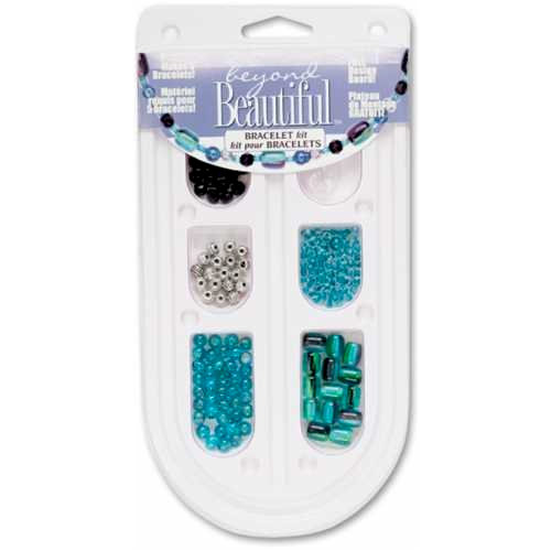 Cousin - Beyond Beautiful Collection - Jewelry - Bracelet Kit - Blue and Black