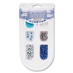 Cousin - Beyond Beautiful Collection - Jewelry - Bracelet Kit - Blue and Silver