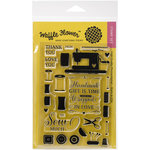 Waffle Flower Crafts - Clear Acrylic Stamps - Notions