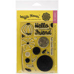 Waffle Flower Crafts - Clear Acrylic Stamps - Flower Circles