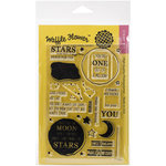 Waffle Flower Crafts - Clear Acrylic Stamps - Starry Night