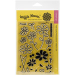 Waffle Flower Crafts - Clear Acrylic Stamps - A Bunch