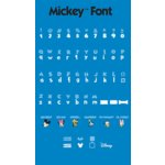 Provo Craft - Cricut Personal Electronic Cutting System - Disney Collection - Mickey Font - Alphabet Cartridge, CLEARANCE