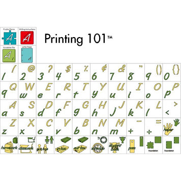 Provo Craft - Cricut Personal Electronic Cutting System - Printing 101 - Classmate Cartridge, CLEARANCE
