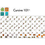 Provo Craft - Cricut Personal Electronic Cutting System - Cursive 101 - Classmate Cartridge, CLEARANCE