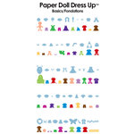 Provo Craft - Cricut Personal Electronic Cutting System - Paper Doll Dress Up - Shapes Cartridge, CLEARANCE