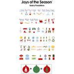 Provo Craft - Cricut Personal Electronic Cutting System - Joys of the Season - Shapes Cartridge
