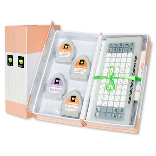 Cricut - Cartridge Storage - Orange