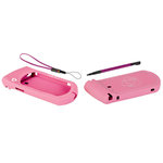 Provo Craft - Gypsy - Silicone Sleeve Set - Pink with White Crown