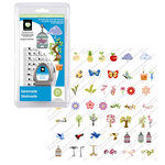 Provo Craft - Cricut Personal Electronic Cutting System - Serenade - Shapes Cartridge