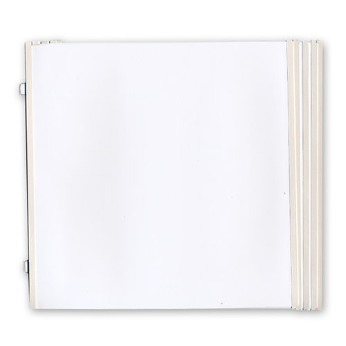 Westrim - Refill Pack - Hinged Pages - Fits 12 x 12 Strap Albums - 10 Pack