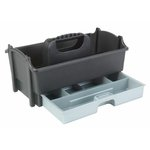 Creative Options - Crafter's Caddy with Drawer - Sparkle Gray and Silver