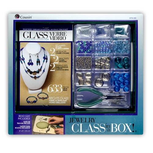 Cousin - Glass Collection - Jewelry - Class in a Box - Glass Brights