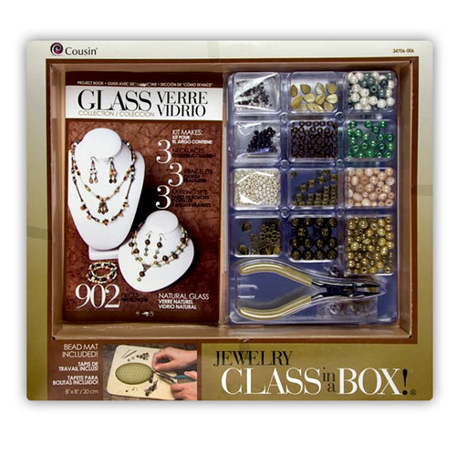 Cousin - Glass Collection - Jewelry - Class in a Box - Natural Glass