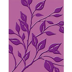 Provo Craft - Cuttlebug - Embossing Folder - Leafy Branch