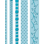 Provo Craft - Cuttlebug - Embossing Folder - Just My Type