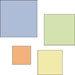 Provo Craft - Cuttlebug - Die Cut Set - 4 Die Cuts - Squares, CLEARANCE
