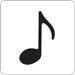 Provo Craft - Cuttlebug - Die Cut - Music Note 1