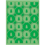 Provo Craft - Cuttlebug - Christmas - Embossing Folder - Winter Trees