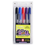 Sakura - Ice Cream Smooth Gelly Roll 5 Pen Set - Medium Line - 0.4mm