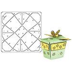 Provo Craft - Coluzzle - Clear Plastic Cutting Template - Takeout Box