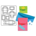 Coluzzle Mini Envelope Template, CLEARANCE