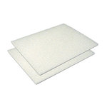 Provo Craft - Coluzzle - Easy Glide Cutting Foam Mat - 2 Mats - 8.5x11 Inches