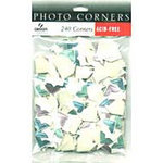Canson - Photo Corners - Appoximately 240 Per Bag - Confetti