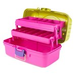 Creative Options - Two-Tray Box - Green, Magenta and Purple
