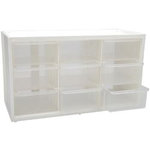 Art Bin - Store-in-Drawer Cabinet - Nine Drawers