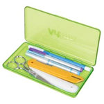 Art Bin - Slim Line Box - Translucent Green