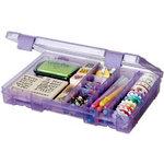 Art Bin - Solutions Box - Purple - 4 to 19 Compartments