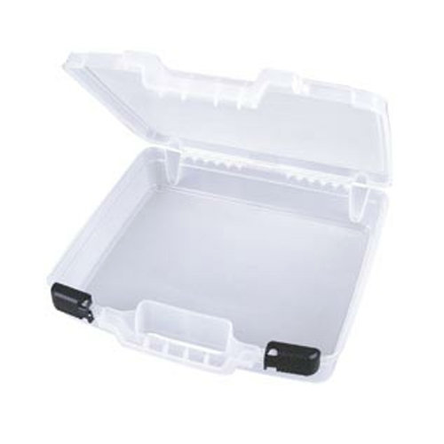 Art Bin - Quick View Deep Base Carrying Case - Clear