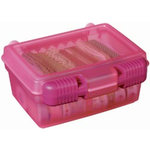 Art Bin - Quick View Carrying Case - One - Raspberry