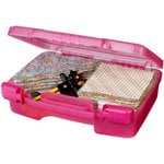 Art Bin - Quick View Carrying Case - Three - Raspberry