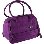 Creative Options - Total Tote - Medium - Purple Faux Suede