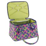 Creative Options - Crafter's Tapered Tote - Multicolor Circles