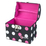 Creative Options - Crafter's Treasure Trunk - Multicolor Polka Dots