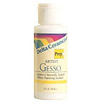 Delta Ceramcoat - Gesso Prep - 8 ounces