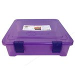 Creative Options - File Tub - Purple Transparent