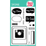 Avery Elle - Clear Acrylic Stamps - Picture It