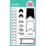 Avery Elle - Clear Acrylic Stamps - To The Point