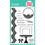 Avery Elle - Clear Acrylic Stamps - Fanfare