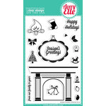 Avery Elle - Clear Acrylic Stamps - Christmas - Warm Wishes