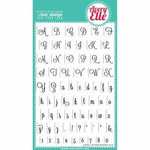 Avery Elle - Clear Acrylic Stamps - Lovely Letters