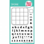 Avery Elle - Clear Acrylic Stamps - Fun with Letters