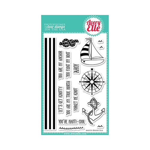 Avery Elle - Clear Acrylic Stamps - Knotty